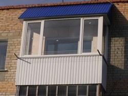 объединение кухни и балкона в Абакане